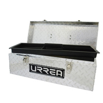 Caja Portaherramientas Aluminio 24 In Charola Plástica Urrea