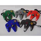 Control Nintendo 64 Nuevo Importado Varios Colores