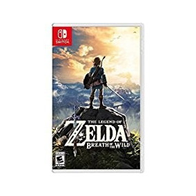 The Legend Of Zelda Breath Of The Wild Nintendo Switch !!!
