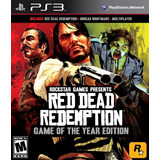 Red Dead Redemption Goty Ps3 Digital