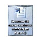 Resumen Del Nuevo Conductor Motociclista, Clase C