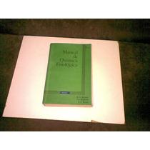 Livro Manual De Quimica Fisiologica Ano 1982