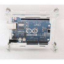 Kit Arduino Uno + Case + Cable Usb
