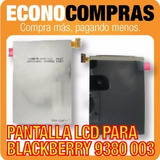 Display Lcd Para Blackberry 9380 003 Nueva
