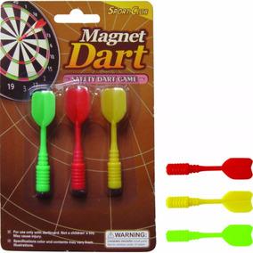 Set 3 Dardos Magneticos 7cm Para Tiro Al Blanco