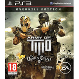 Army Of Two The Devils Cartel Ps3 Digital