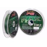 Linha Multifilamento Max Force Maruri 0.18mm 24lb , 100m