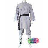 Shaolin Kung Fu Roupa Monge Conjunto