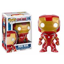 Funko Pop! Capitão America 3: Homem De Ferro