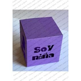 Caja Dulces O Recuerdo Nacimiento, Baby Shower Soy Niño/niña
