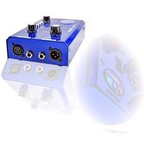 Sjf Pre-amp Arcano Artube200 Valvulado Com Limiter Phantom