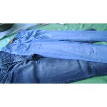 Lote De 2 Jeans Dama T.23- Akiabara Y Cuesta Blanca.