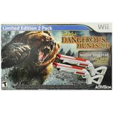 Wii Cabelas Dangerous Hunts 2013 Armas Blakhelmet Sp