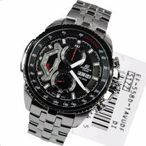Relógio Casio Masculino Edifice Ef-558d-1avudf. Completo