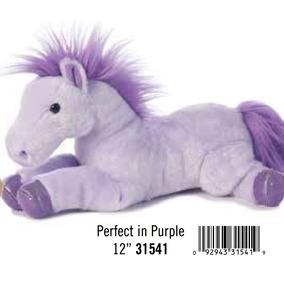 Caballo Pony Bebe Peluche Aurora Juguete Flopsie 30 Cm