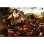 Vendedora De Frutas 1580 Pintor Vincenzo Campi Tela Repro