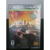 Need For Speed Undercover Xbox 360 Nuevo De Fabrica