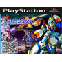 Jogo Patch Megaman X4 Para Ps1 Psone Playstation Prensado