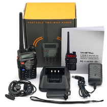 Radio Portatil Baofeng Uv-5r + Plus Vhf/uhf 100% Nuevo