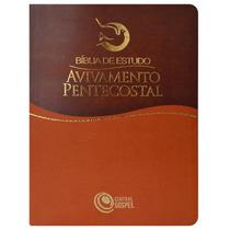 Bíblia De Estudo Avivamento Grátis Cd Ricardo Bruneli