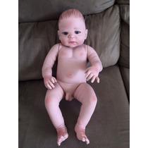 Bebê Reborn Menino Corpo Silicone Pronta Entrega Fotos Reais