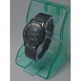 Reloj Negro Unisex Con Estuche Y Envio Gratis