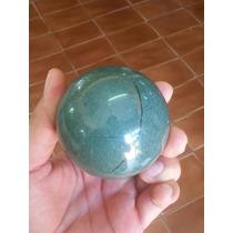Esfera De Jade 450g Aproximadamente - Pedra Semi-preciosa