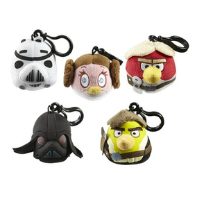Chaveiro Angry Birds - Star Wars - Lote Com 5 Personagens