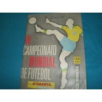 Revista Vii Campeonato Mundial De Futebol Chile 1962