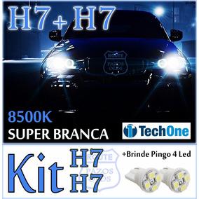 Kit Lâmpada Super Branca 2 H7+2 H7 55w 8500k Vectra 98 À 05