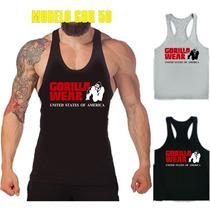 Musculosas Gorilla Wear Olimpicas Unicas A Todo El Pais!!
