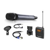 Microfone Sennheiser Ew135 P G3 Sistema Mão E Câmera **
