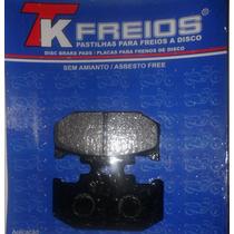 Pastilha De Freio Traseira Kawasaki Kdx 200 Ano 1989 A 1999