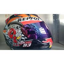 Capacete Repsol Abelha 93 Df2 Original Helmet Marquez