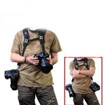 Correa Doble Para Cámara Digital Nikon Canon Sony Pentax