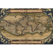 Planisferios Y Mapas En Cuadro - También Hay Chapas