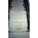 Tarjetas Artesanal: Pergaminos 15 Años-boda-bautismo