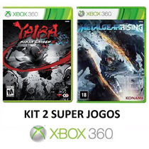 Ninja Gaiden Z + Metal Gear Rising - Midia Fisica - Xbox 360