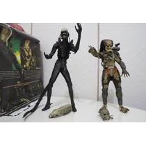 Boneco Alien Vs Predador Colecionavel Em Pvc