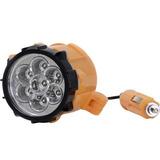 Lanterna Automotiva Magnética Isqueiro Plug 12v 7 Leds Forte