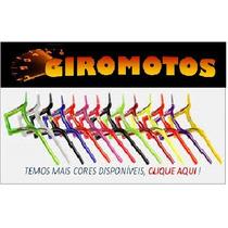 Guidão Moto Mônaco Aluminio- Cores- Drifit- Alto&baixo