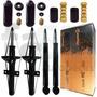 4 Amortecedores Cofap + Kits Suspensão Golf Glx 2.0 95/98