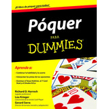 Libro Póquer Para Dummies Nuevo