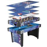 Mesa Multijuegos 12 En 1 Billar Futbolito Ping Pong Hockey