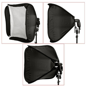 Softbox Neewer Para Flash (60 X 60 Cm) Nuevos!!