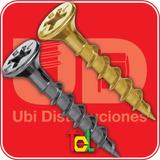 Autoperforante Madera Tel-fix 6 X 2 Dor, Negro. Caja X 3500