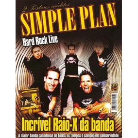 Revista Pôster Simple Plan = C/ 2 Pôsters 42cm X 52cm! Veja!