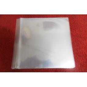 100 Plásticos 0,15 P/ Capa De Compactos - Vinil 7 Polegadas