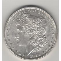 Ojo. Dolar Morgan De 1884. Bu.