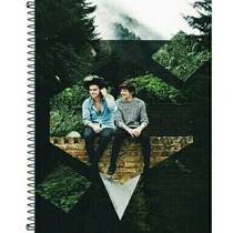 Caderno Larry (harry + Louis) One Direction 1 Materia